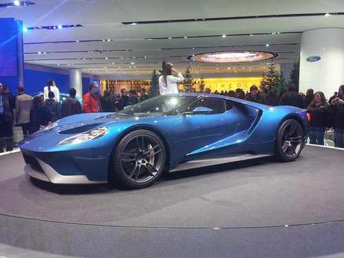 Auto Show 2015 FordGT Photo by Amy Cooper