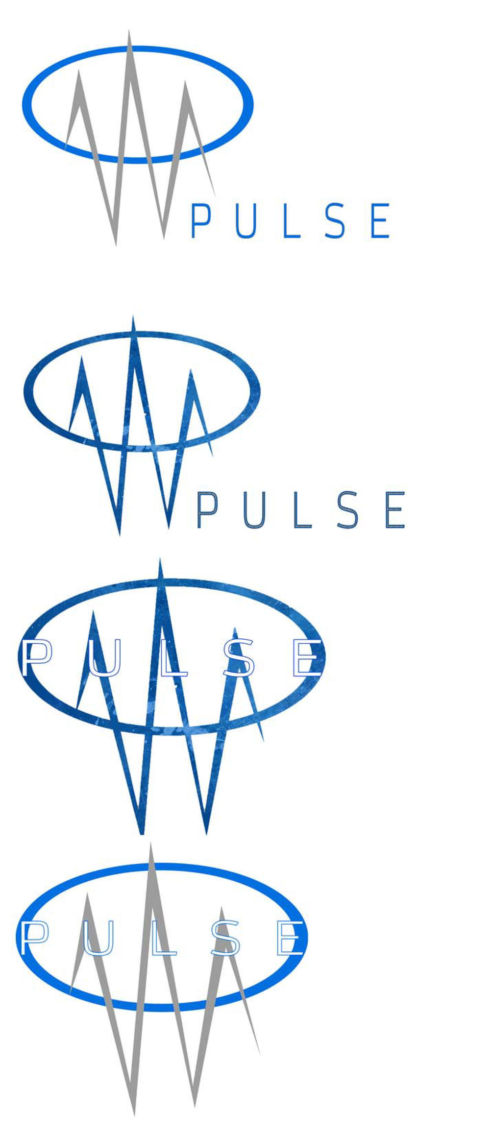 Logo Mock Ups For Pulse Fitness