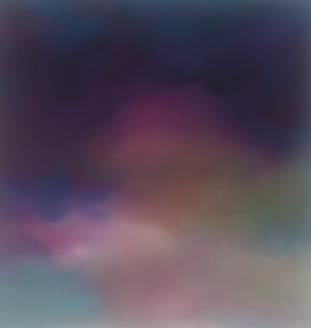 """Taos Cloud #3,"" oil on panel, 12"" x 12"",  2015"