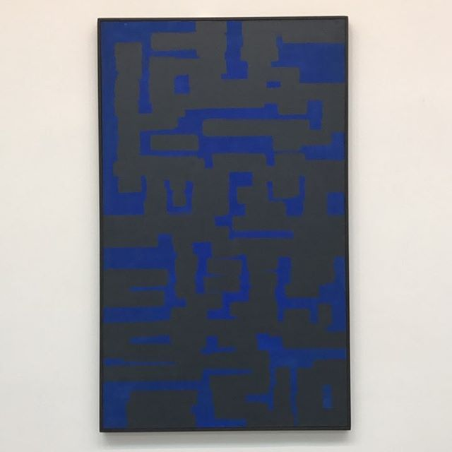 Ad Reinhardt at @davidzwirner - #nyc #art #painting #chelsea #abstractart