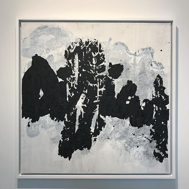 Yang Jiechang #calligraphy at @chambersfineartgallery - #art #nyc #painting #chelsea