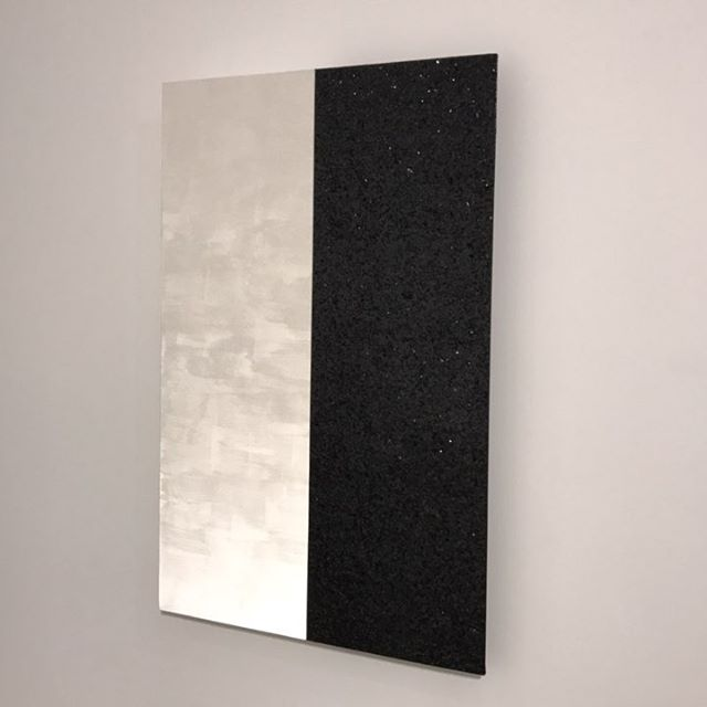 Mary Corse at @lehmannmaupin - #art #nyc #chelsea #shine #painting