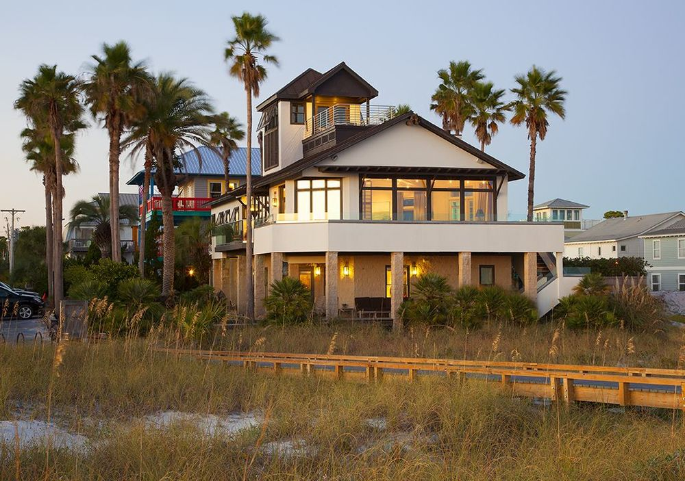 "One week at ""Atypical"" Grayton Beach Gulf-Front Home"