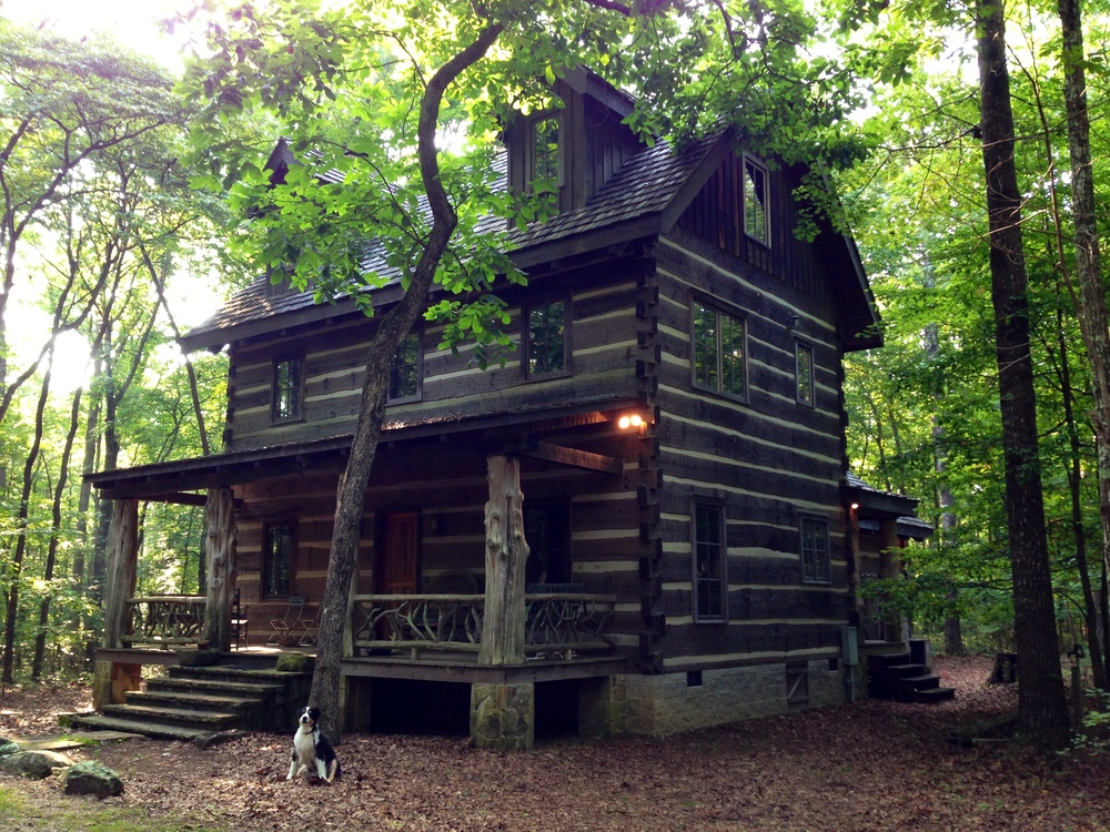 A Weekend at Shangri-Log Cabin on Monteagle