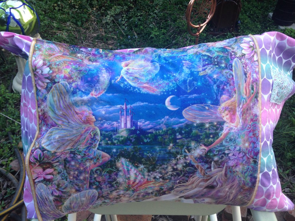Unicorn Pillowcase with Secret Pockets