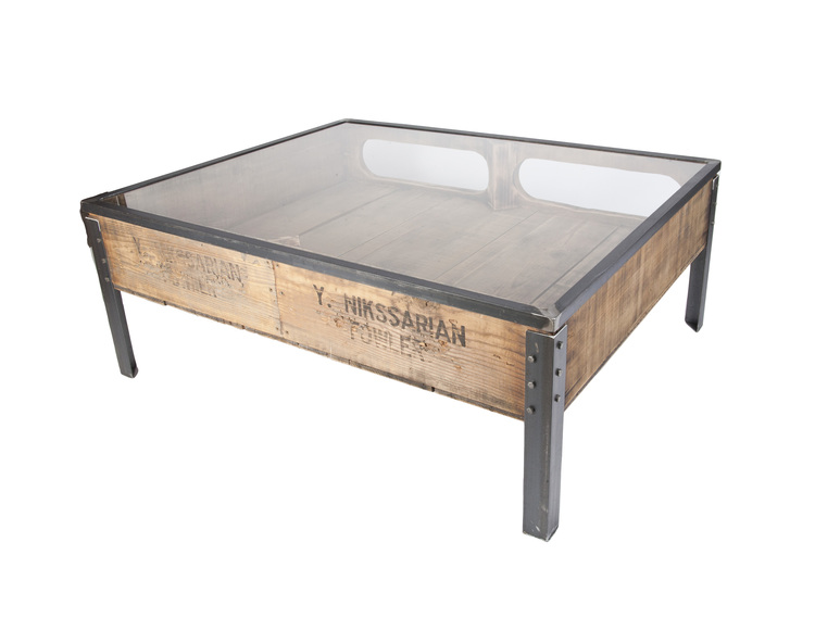 Large Shadowbox Coffee Table Michael Graham Designs - Shadow box side table