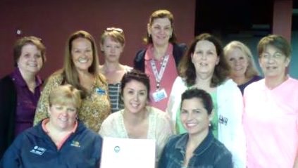 The Junior Auxiliary of Taney County received the efficiency award from the National Association of Junior Auxiliaries