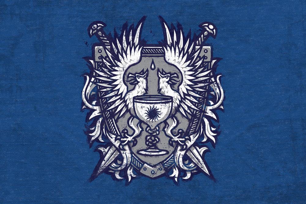 Grey Warden Shirt Chad Gowey Illustration
