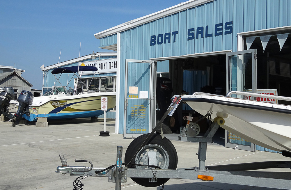 Brokerage Boat Sales at Somers Point Marina