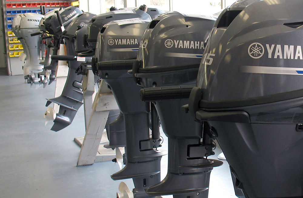 Yamaha portable engines