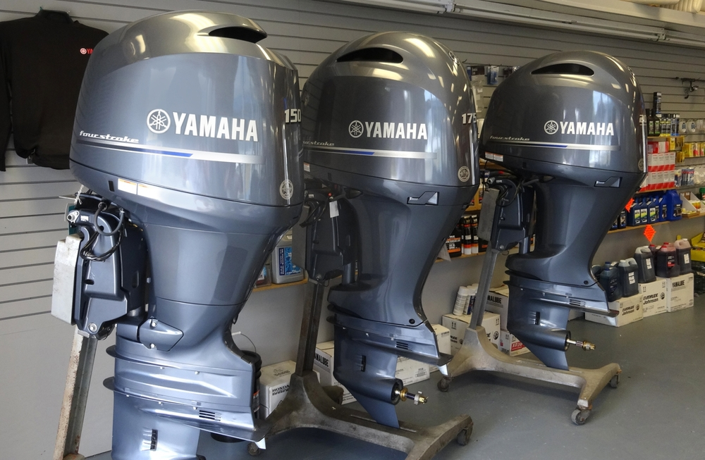 Yamaha and honda outboard engine sales somers point for Used outboard motors nj