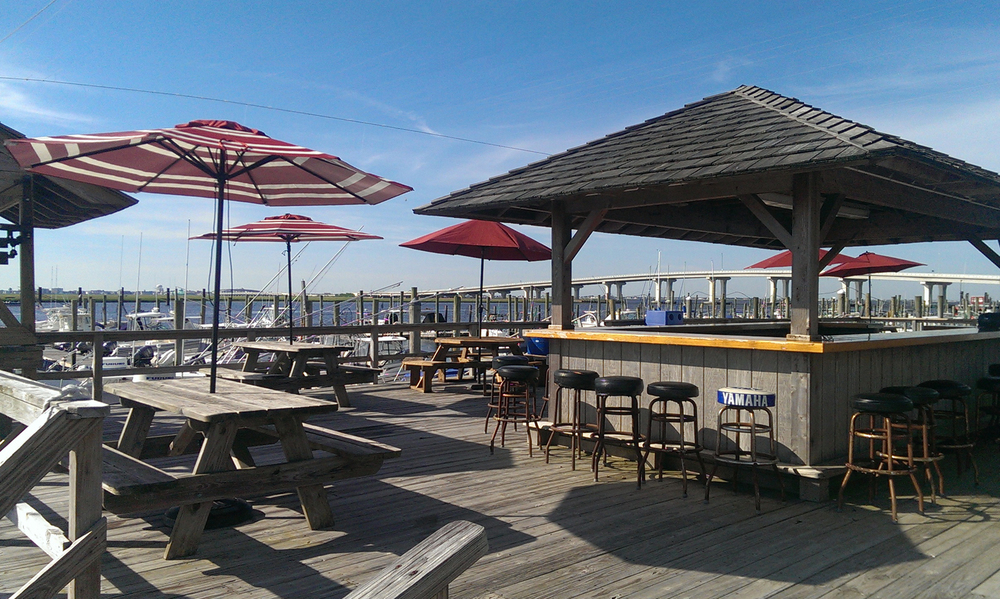 Somers Point Marina Tiki Deck