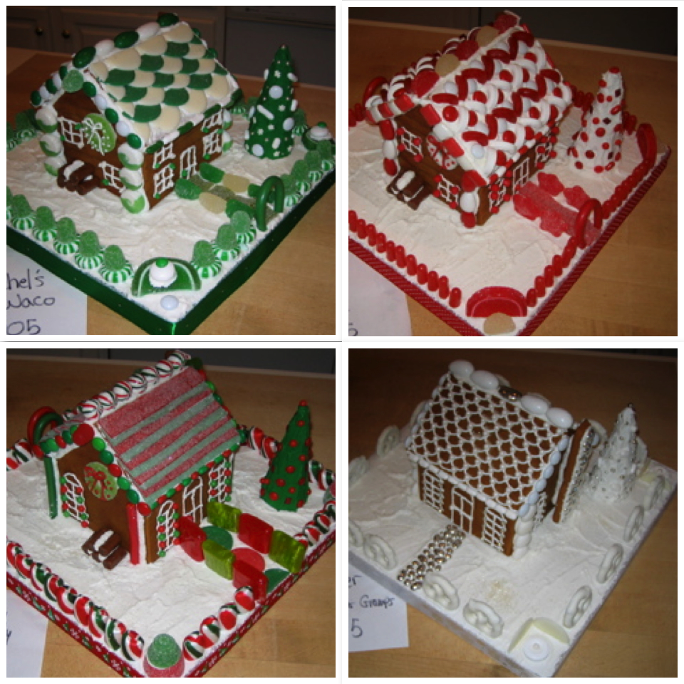 The Gingerbread Houses of 2005