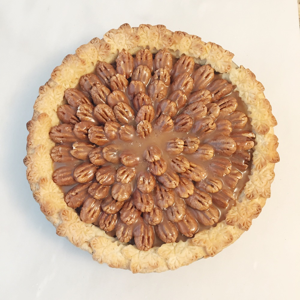 Salted Caramel Chocolate Pecan Pie southern living