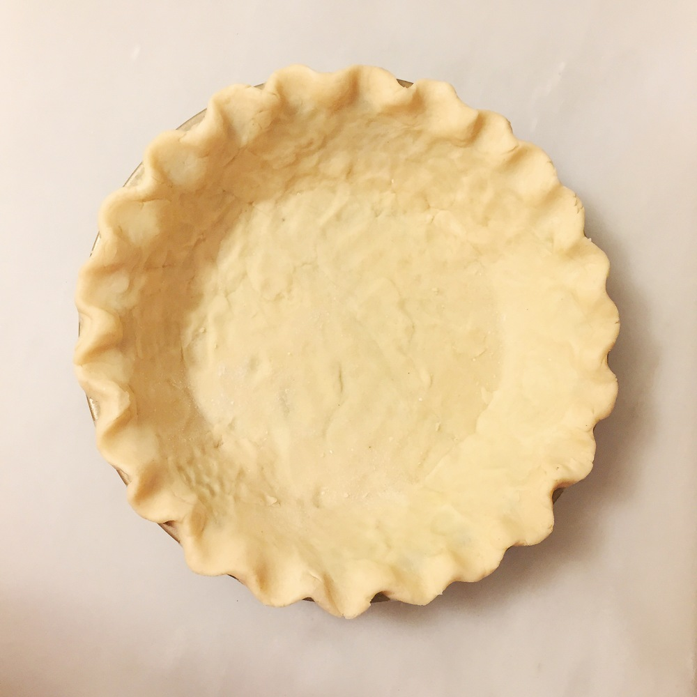 gluten free pie crust fluted