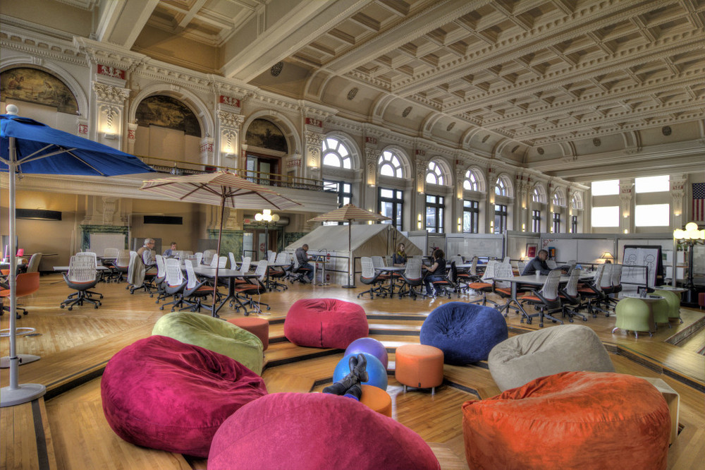 The top 100 coworking spaces in the u s symmetry50 Coworking space design ideas