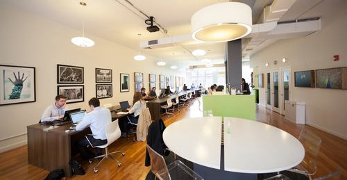 Top coworking spaces in US 5