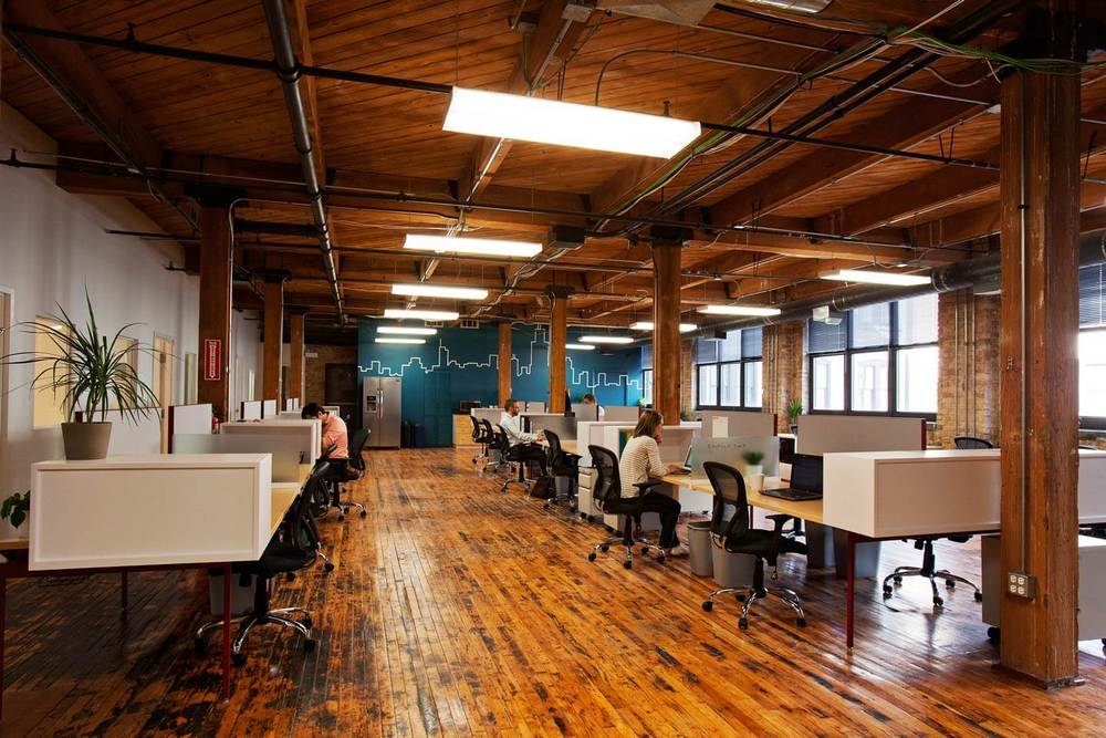 The top 100 coworking spaces in the u s symmetry50 for Design company usa