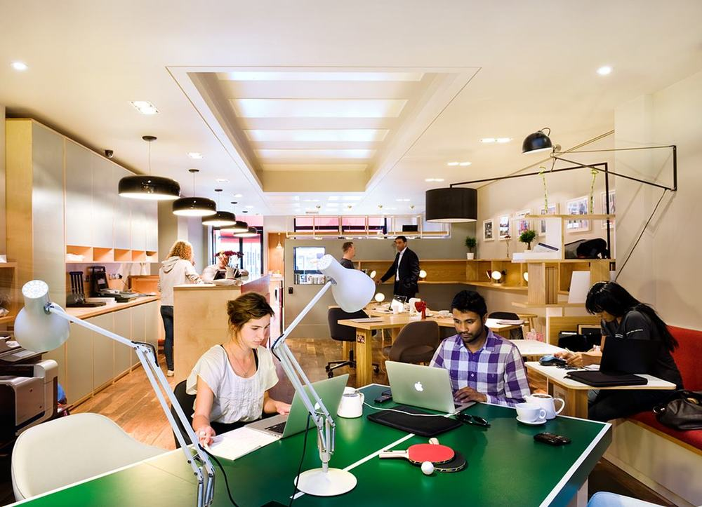 The top coworking spaces in the world symmetry50 Coworking space design ideas