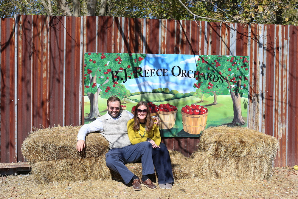 Photo Op at BJ Reece Orchards