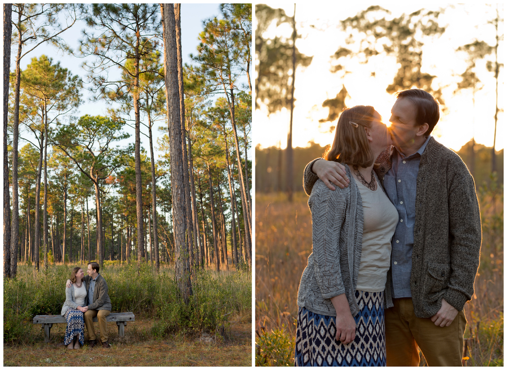engagement session at Sandhill Crane National Wildlife Refuge (Uninvented Colors Photography)