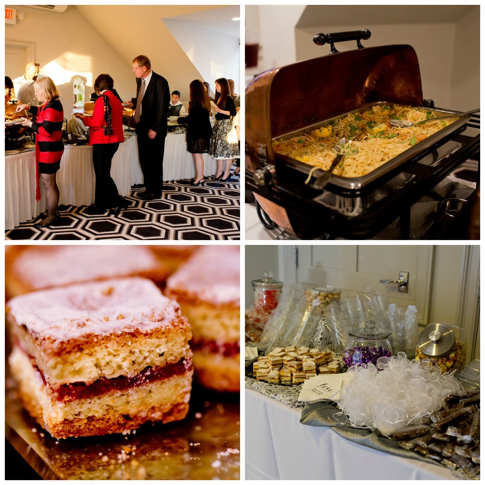 wedding catered food at White House Biloxi (Uninvented Colors Photography)