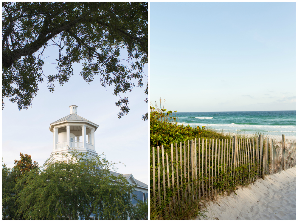 Seaside, Florida architecture and beach