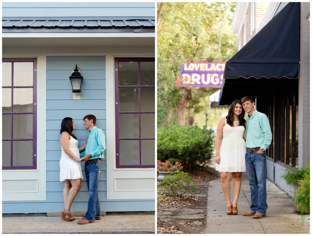Ocean Springs, Mississippi engagement photographs