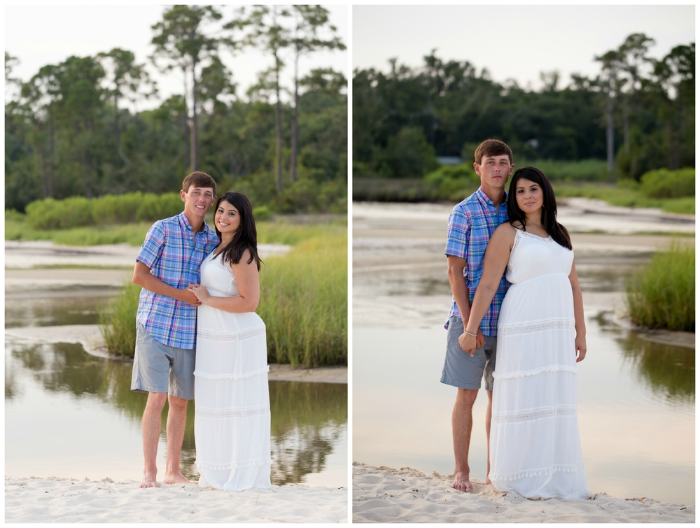Gulf Coast engagement photos by Uninvented Colors Photography