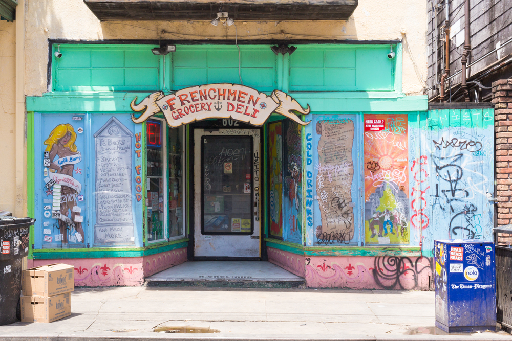 Frenchman Street Grocery & Deli (colorful New Orleans photo)