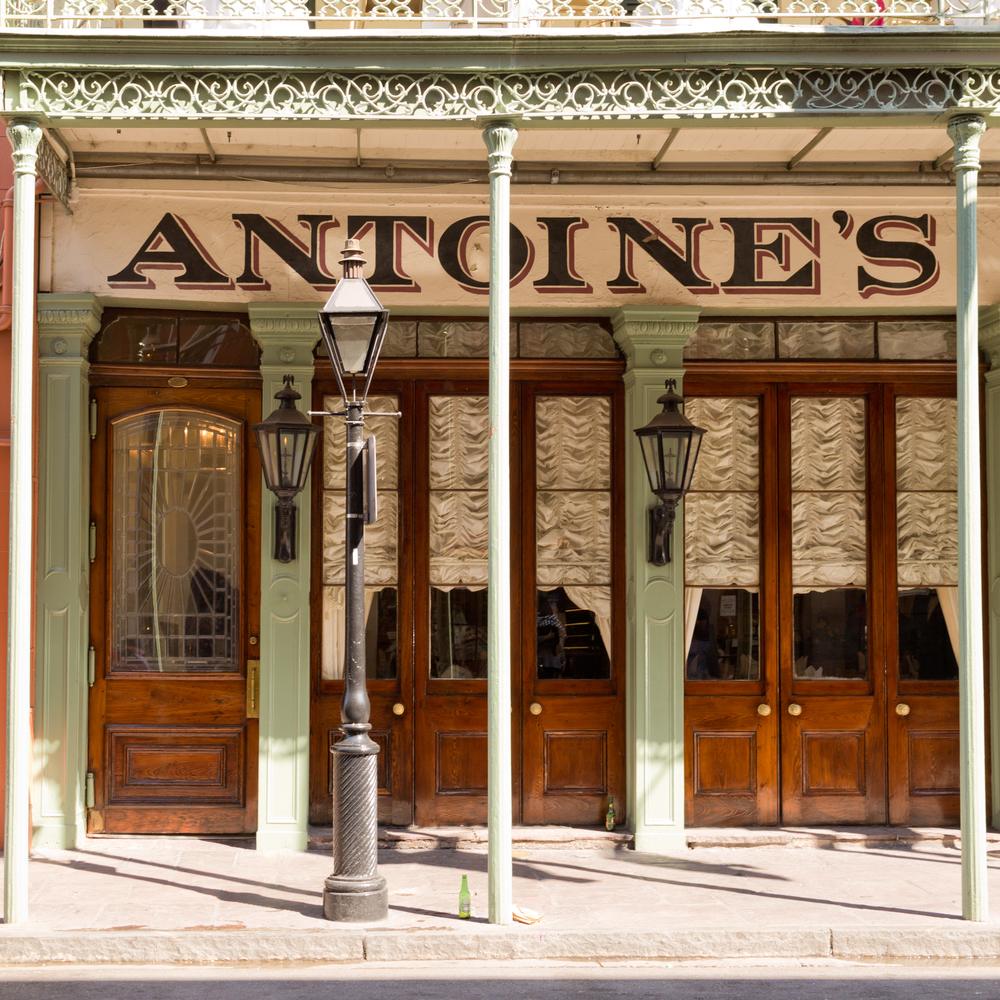 Antoine's restaurant in New Orleans