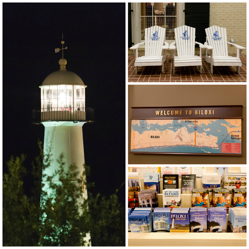 Biloxi Visitors Center and lighthouse (wedding venue)