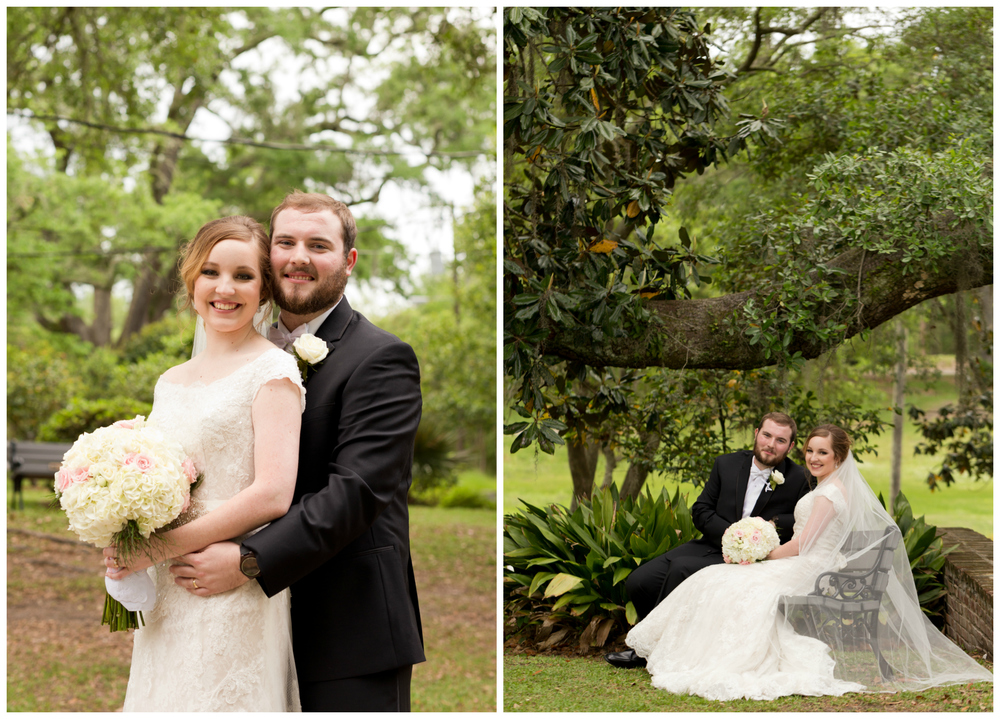 wedding portraits in Ocean Springs, Mississippi