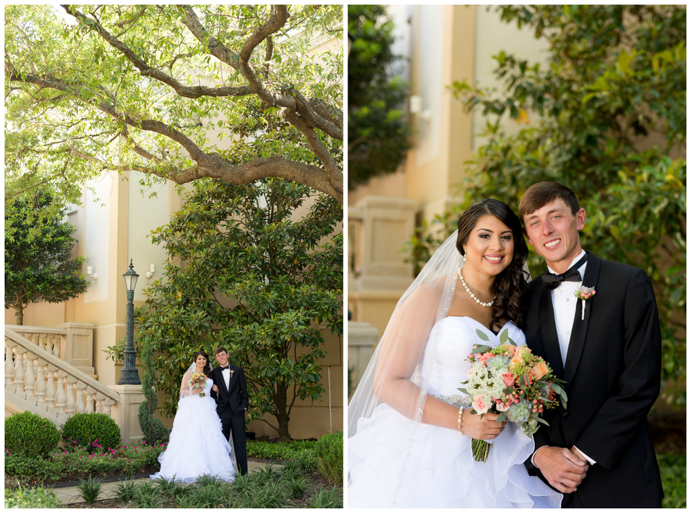 wedding portraits at Beau Rivage Biloxi (Uninvented Colors Photography)