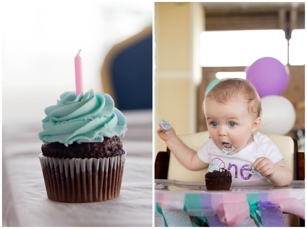 baby's first cupcake