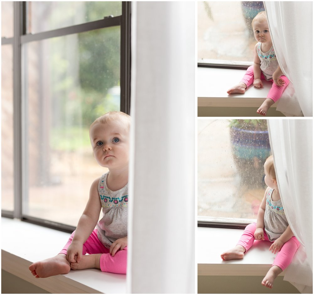 cute pictures of little girl in baby window