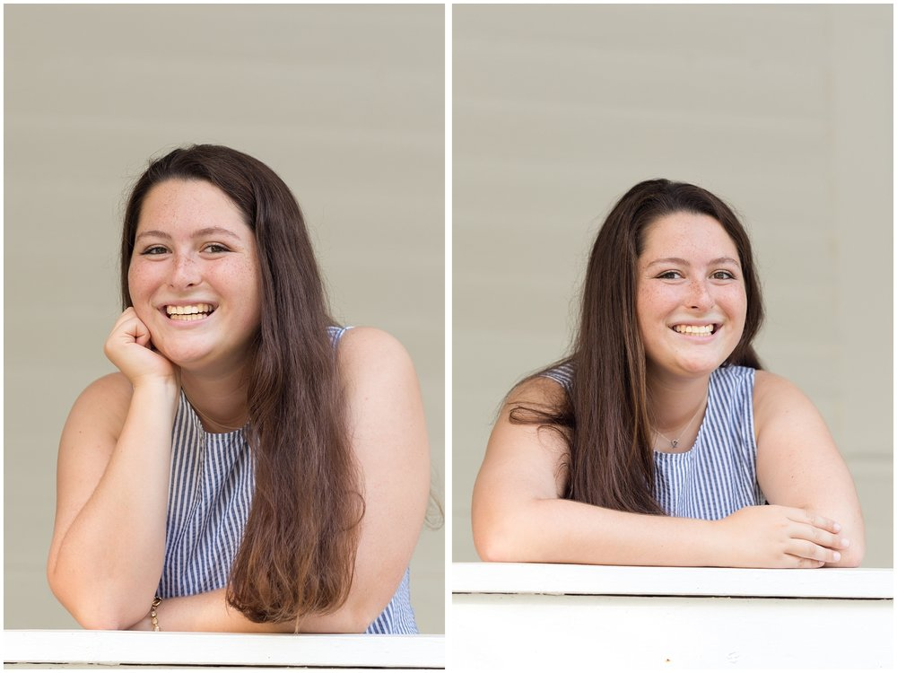 senior girl headshots (Ocean Springs, Mississippi)