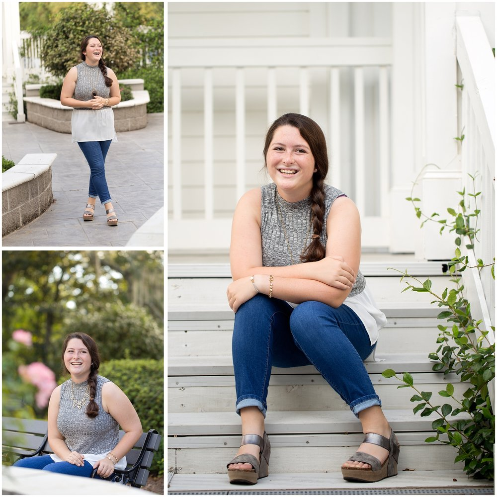 Ocean Springs senior portrait photographer (senior casuals)