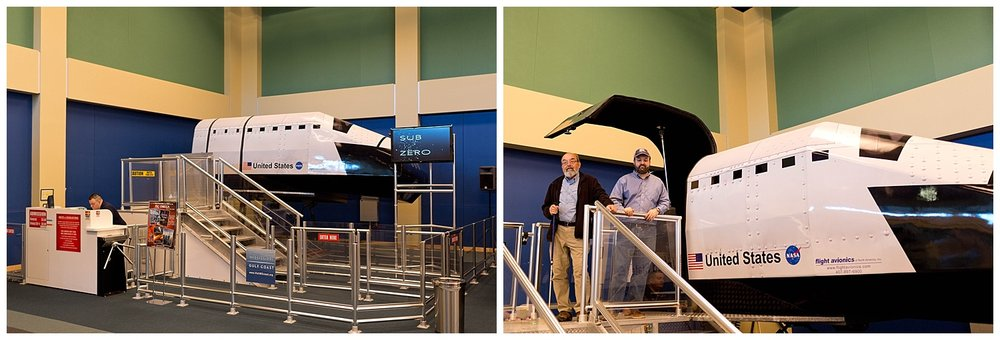 flight simulator at Stennis Space Center