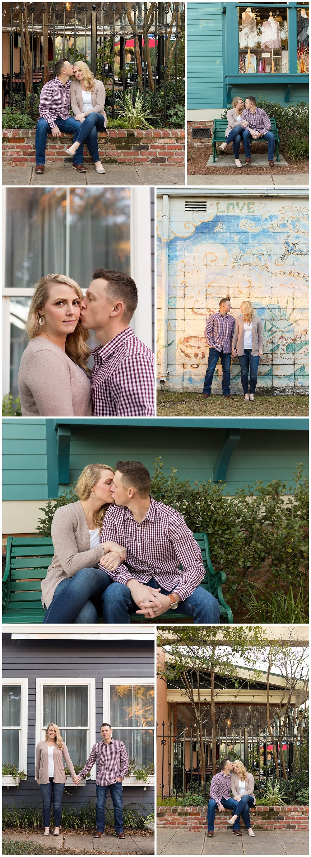 Ocean Springs, Mississippi engagement photographer Uninvented Colors Photography