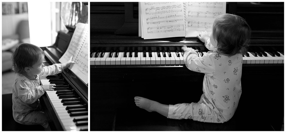 toddler playing piano - Ocean Springs lifestyle photographer