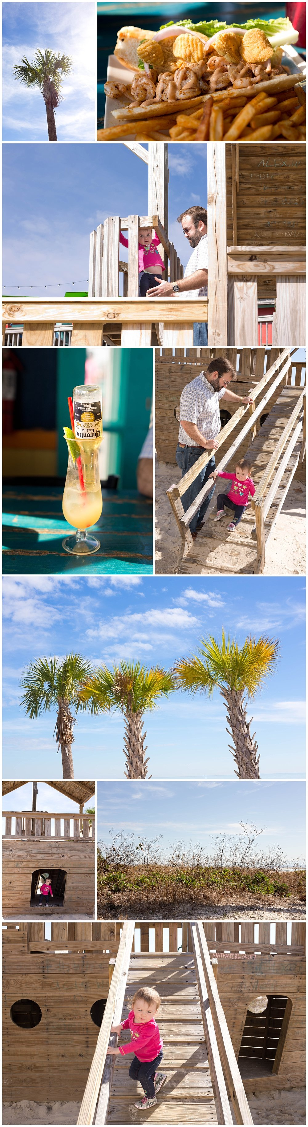 Shaggy's Biloxi - food, Coronarita, playground, palm trees