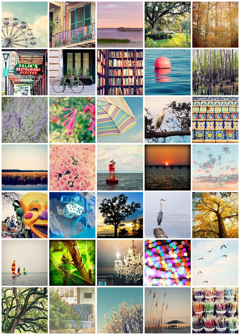 colorful photo prints by Uninvented Colors - available on Etsy