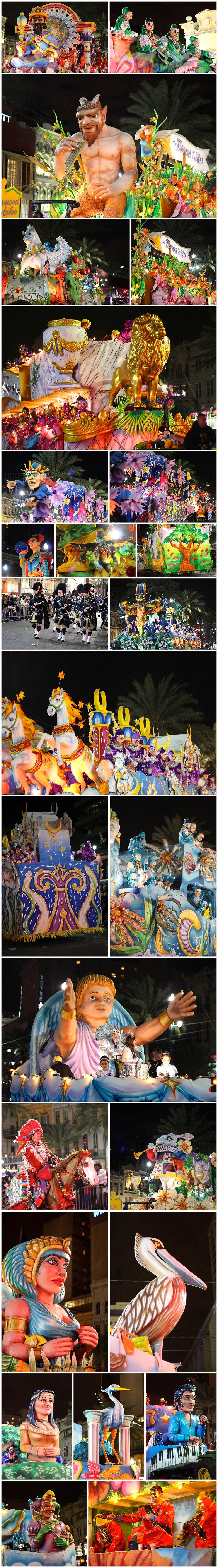 Hermes, D'Etat, Morpheus Mardi Gras parades in New Orleans
