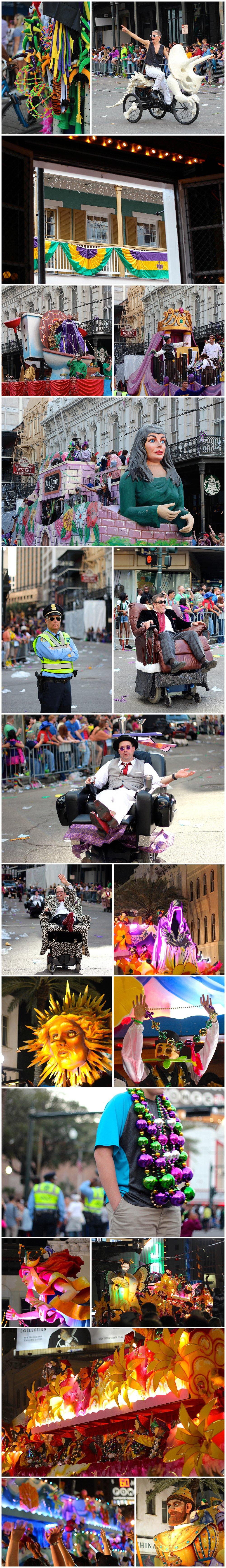 New Orleans Mardi Gras parades (Tucks, Endymion)