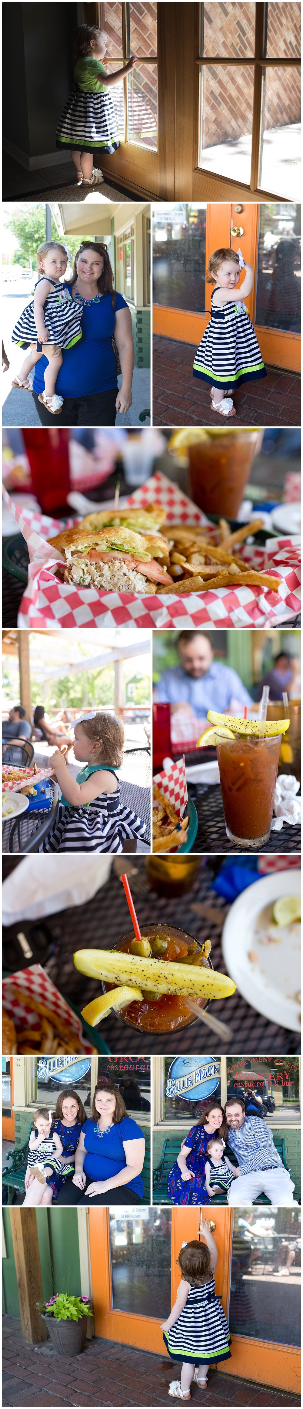family lunch at Government Street Grocery in Ocean Springs (chicken salad sandwich and bloody Mary)