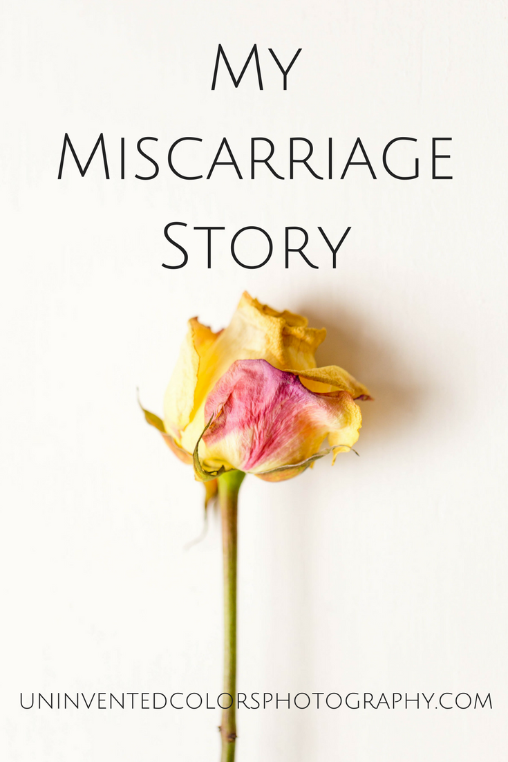 my miscarriage story
