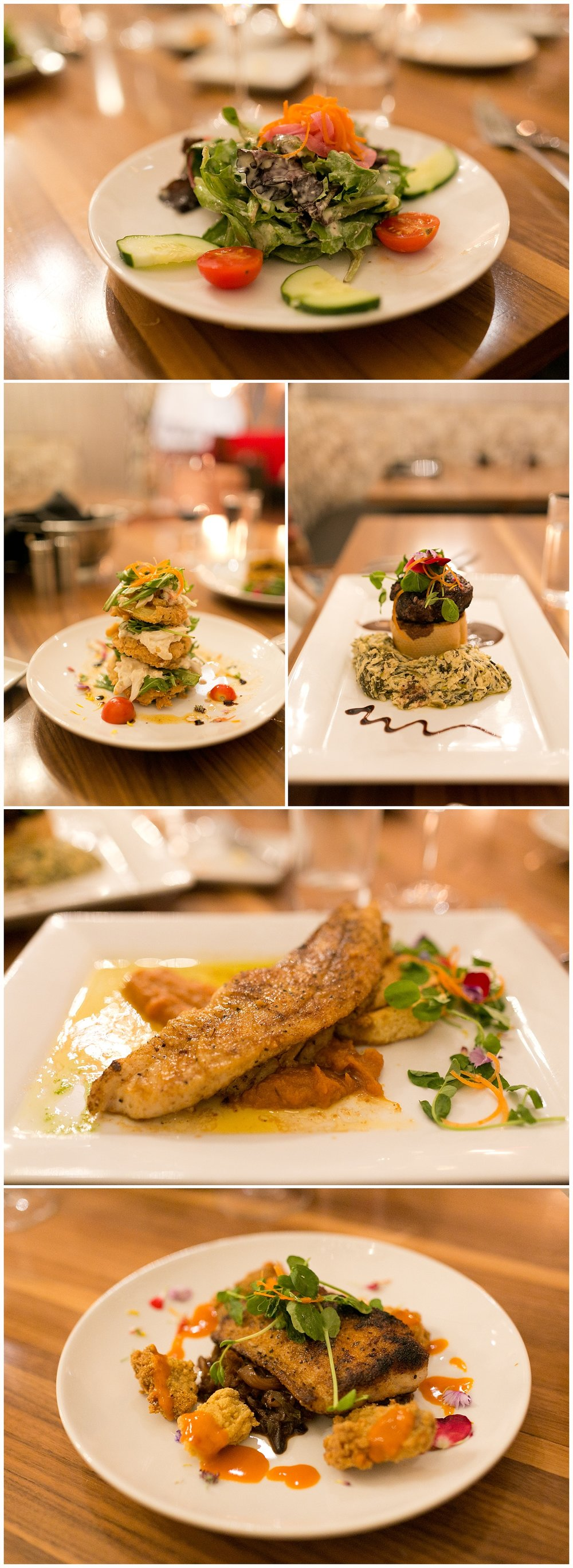 Biloxi food photography - Cora's restaurant at the White House Hotel