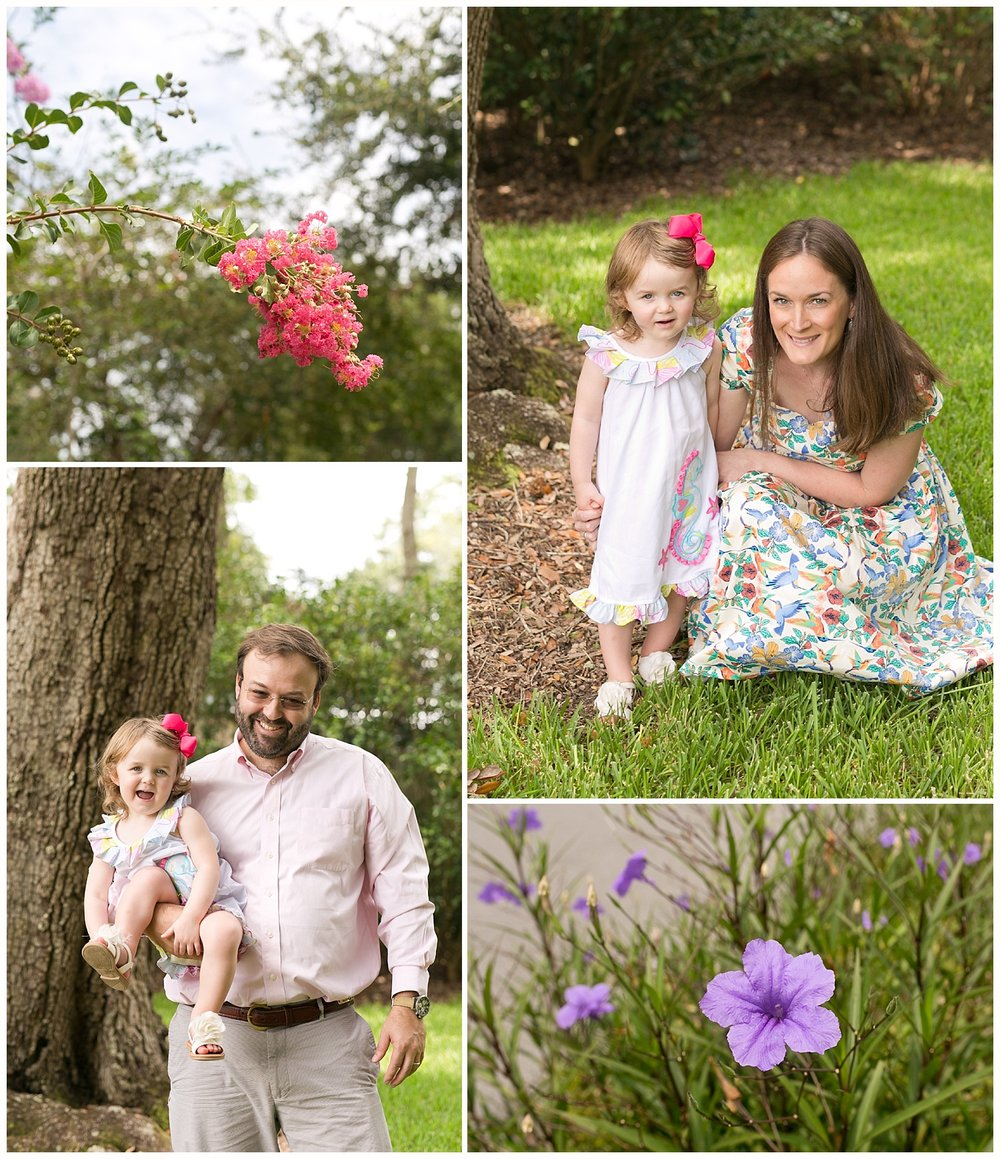 family dressed up for church - Ocean Springs family photographer
