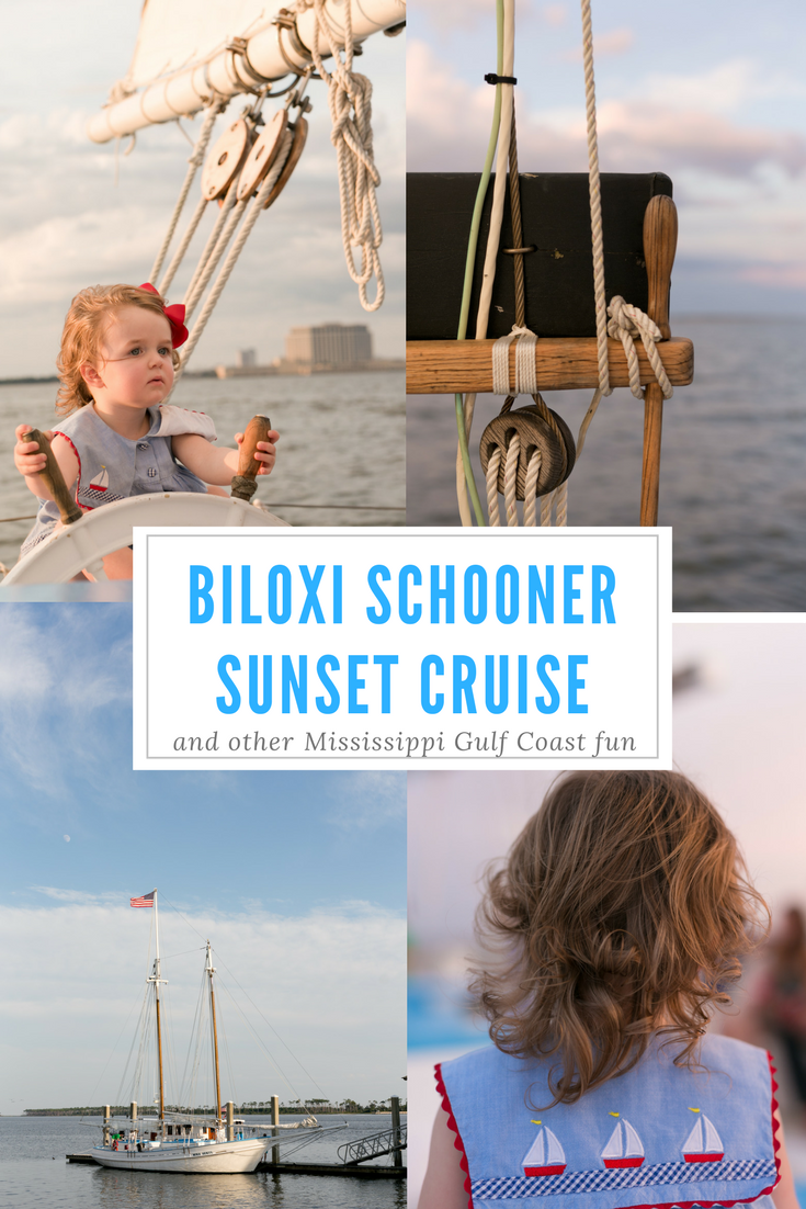 Biloxi Schooner Sunset Cruise (photo and travelogue)